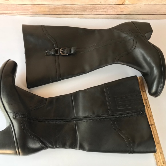 """3b1155e79d76 Clarks Shoes - Clarks 68742 WIDE Shaft 18"""" Ingalls Vicky Boots"""